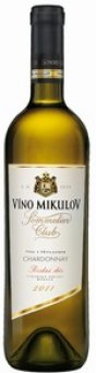 Víno Chardonnay Sommelier Club Víno Mikulov - pozdní sběr