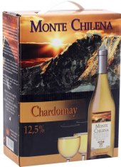 Víno Chardonnay Monte Chilena - bag in box