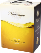 Víno Chardonnay Mutěnice - bag in box
