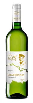 Víno Chardonnay TGM Templářské sklepy Čejkovice