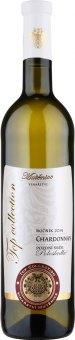Víno Chardonnay Top Collection Vinařství Mutěnice - pozdní sběr