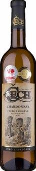 Víno Chardonnay Vinařství Čech - výběr z hroznů