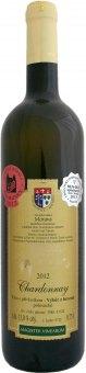 Víno Chardonnay Vinařství Dufek - výběr z hroznů