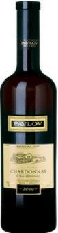 Víno Chardonnay Vinařství Pavlov - výběr z hroznů