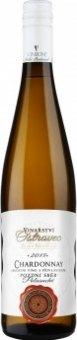 Víno Chardonnay Vinařství Ostrovec - pozdní sběr