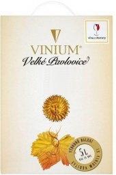 Víno Chardonnay Vinium Velké Pavlovice - bag in box