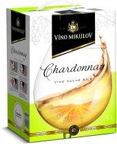 Víno Chardonnay Víno Mikulov - bag in box