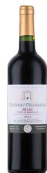 Víno červené Cote de Blaye Chateau Chamaille
