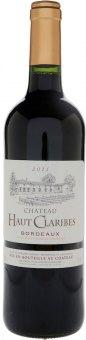 Víno červené Bordeaux 2012 Chateau Haut Claribes