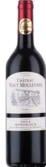 Víno červené Bordeaux 2011 Chateau Haut Mouleyres