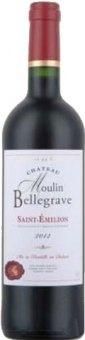 Víno červené Saint - Emilion Chateau Moulin Bellagrave