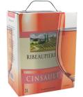 Víno Cinsault Ribeaupierre - bag in box
