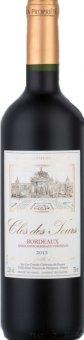 Víno červené Bordeaux Clos Des Tours