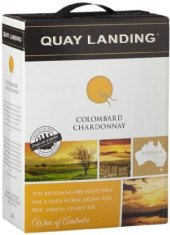Víno Colombard Chardonnay Quay Landing - bag in box