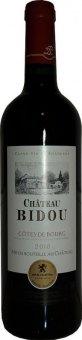 Víno červené Cotes de Bourg Chateau Bidou