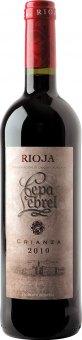 Víno červené Crianza DOCa Rioja Cepa Lebrel