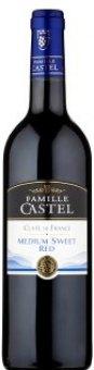 Víno červené Cuvée de France Famille Castel