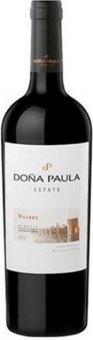 Víno Cuvée Shiraz a Malbec Estate Doňa Paula