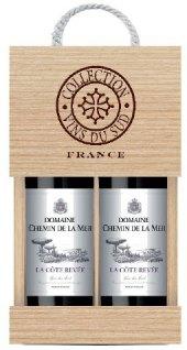 Víno Domaine Saint Croix La Cote Reserve - dárkové balení