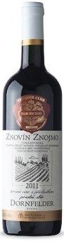 Víno Dornfelder Znovín Znojmo - pozdní sběr