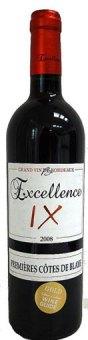 Víno Excellence IX Blaye Côtes de Bordeaux