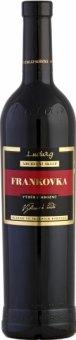 Víno Frankovka Archivní sklep Vinařství Ludwig - výběr z hroznů