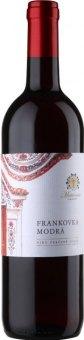 Víno Frankovka modrá Žudro Vinařství Mutěnice