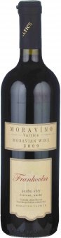 Víno Frankovka Barrique Moravíno Valtice - pozdní sběr