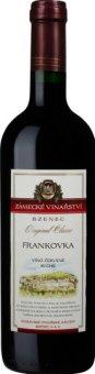 Víno Frankovka Original Classic Zámecké vinařství Bzenec