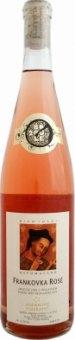 Víno Frankovka Rosé Adámkovo vinařství - pozdní sběr