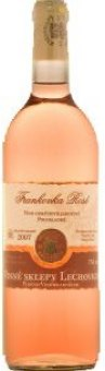 Víno Frankovka Rosé Vinné sklepy Lechovice