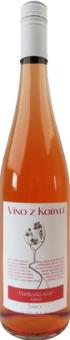 Víno Frankovka Rosé Víno z Kobylí - kabinetní