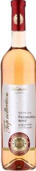 Víno Frankovka Rosé Top Collection Vinařství Mutěnice - pozdní sběr