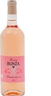 Víno Frankovka rosé Vinařství Bzenec Bunža
