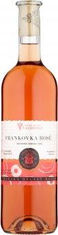Víno Frankovka Rosé Vinné sklepy Lechovice - zemské