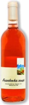 Víno Frankovka Rosé