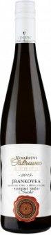 Víno Frankovka Vinařství Ostrovec - pozdní sběr