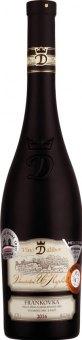 Víno Frankovka Víno Dalibor Vinařství U Kapličky - pozdní sběr