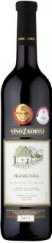 Víno Frankovka Víno z Kobylí - pozdní sběr