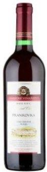 Víno Frankovka Zámecké vinařství Bzenec