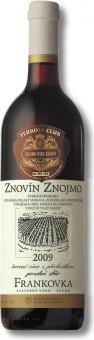 Víno Frankovka Znovín Znojmo - pozdní sběr