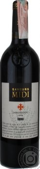 Víno Grenache Noir, Carignan-Cinsault, Syrah Cuvée Saverus du Midi