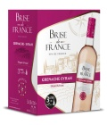 Víno Grenache - Syrah rosé Brise de France - bag in box
