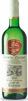 Víno Kerner Terroir Club Znovín Znojmo - pozdní sběr