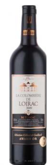 Víno Médoc 2009 La Colombiére de Loirac