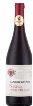 Víno Lacombe Merciére Cotes du Rhone Villages