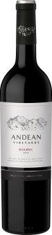 Víno Malbec Andean Vineyards