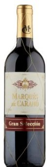 Víno červené Gran Selección Marqués de Caranó