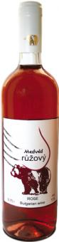 Víno Medvěd růžový