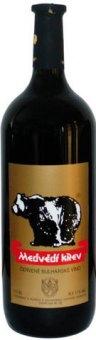 Víno červené Medvědí krev